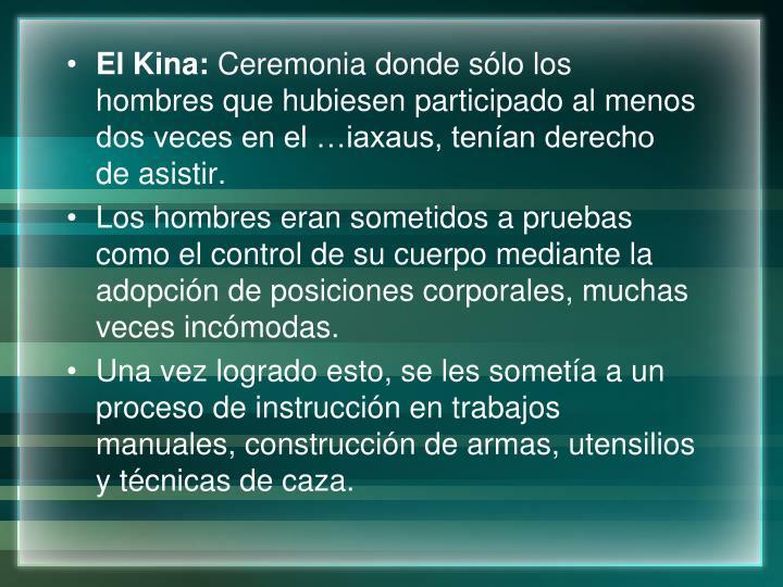 El Kina: