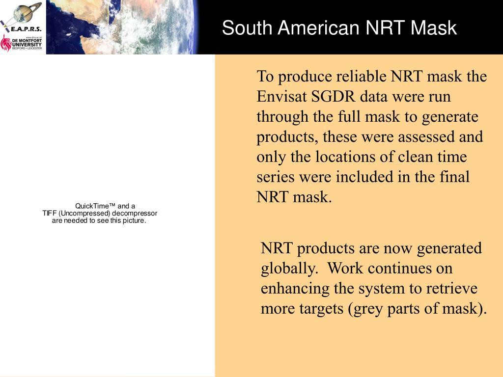 South American NRT Mask