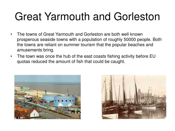 Great yarmouth and gorleston