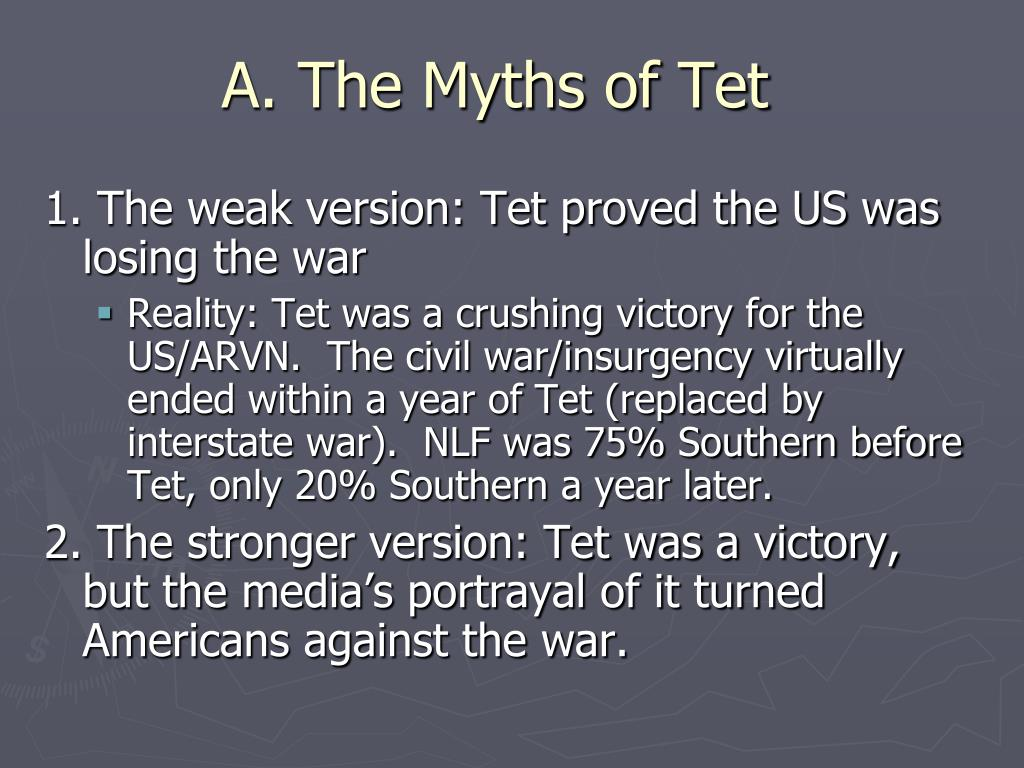 A. The Myths of Tet