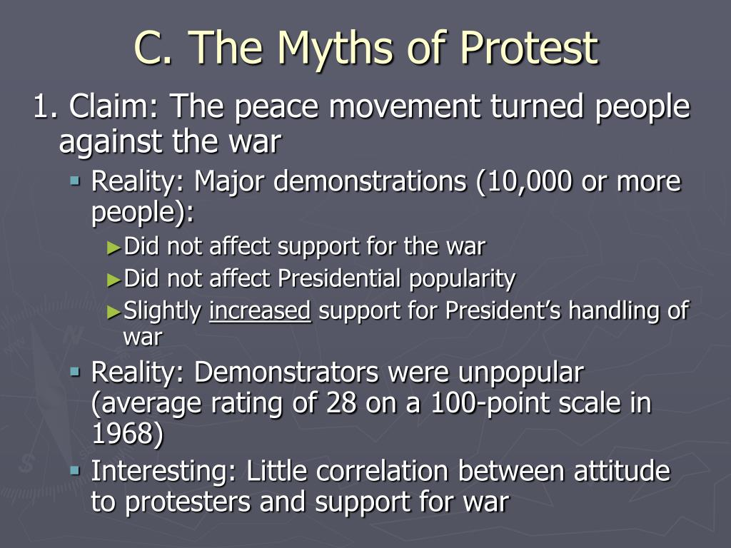 C. The Myths of Protest