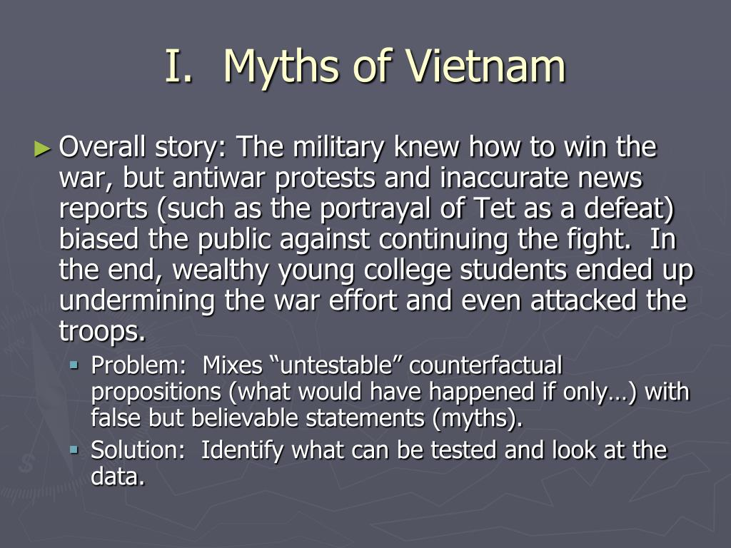 I.  Myths of Vietnam