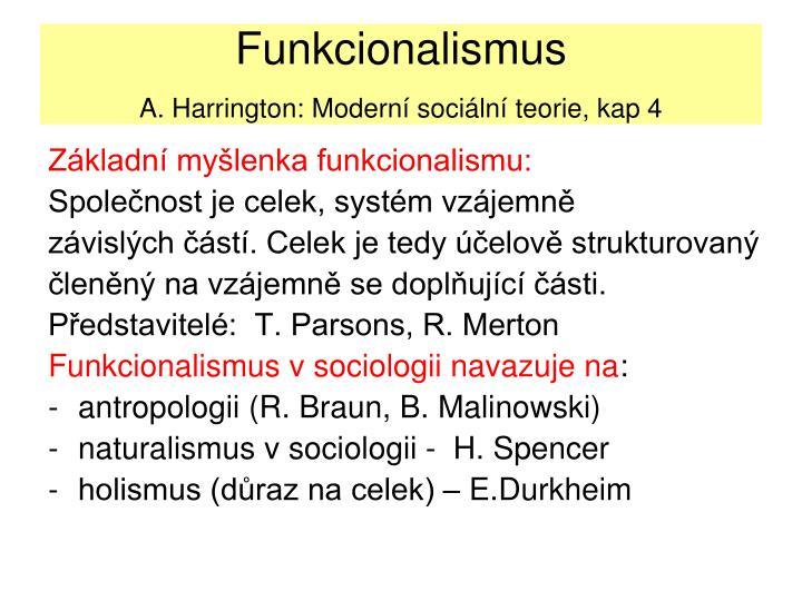 Funkcionalismus