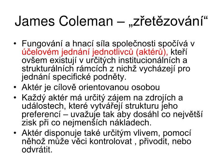 James Coleman  zetzovn