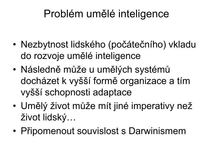 Problm uml inteligence