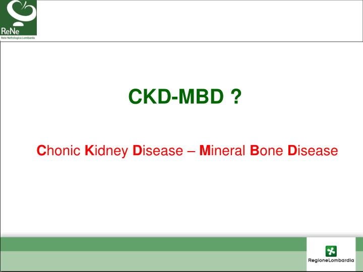 CKD-MBD ?