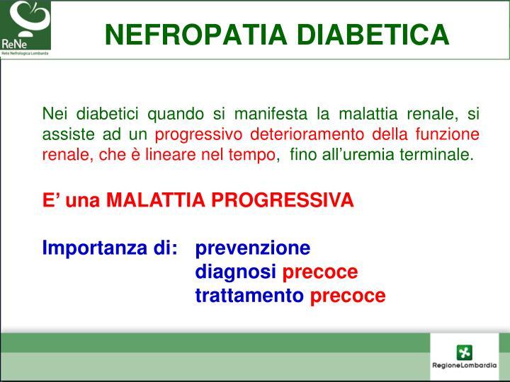 NEFROPATIA DIABETICA