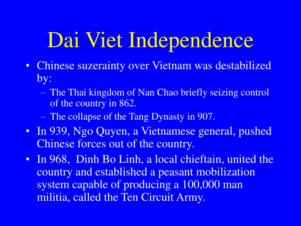 Dai Viet Independence