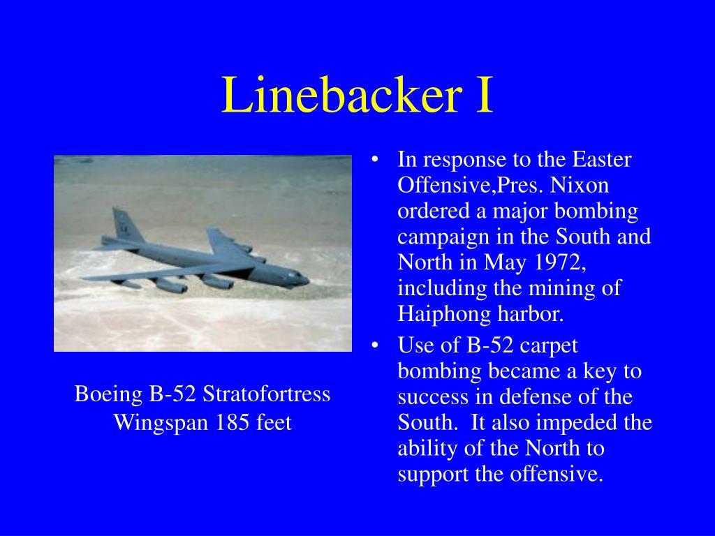 Linebacker I