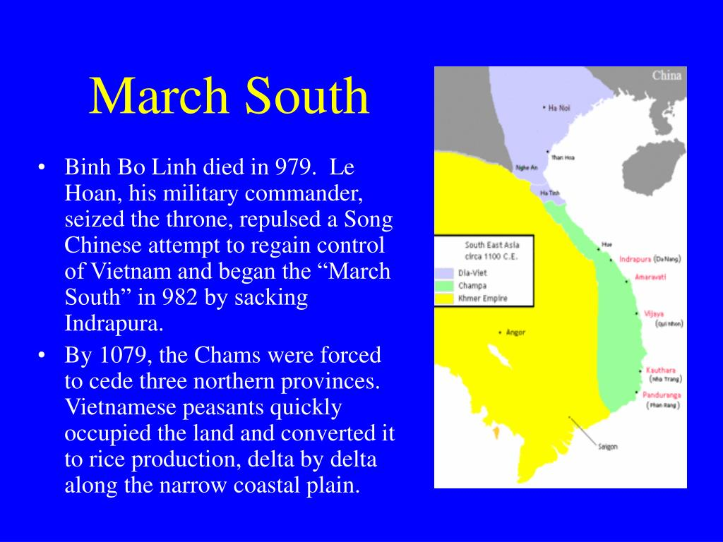 March South