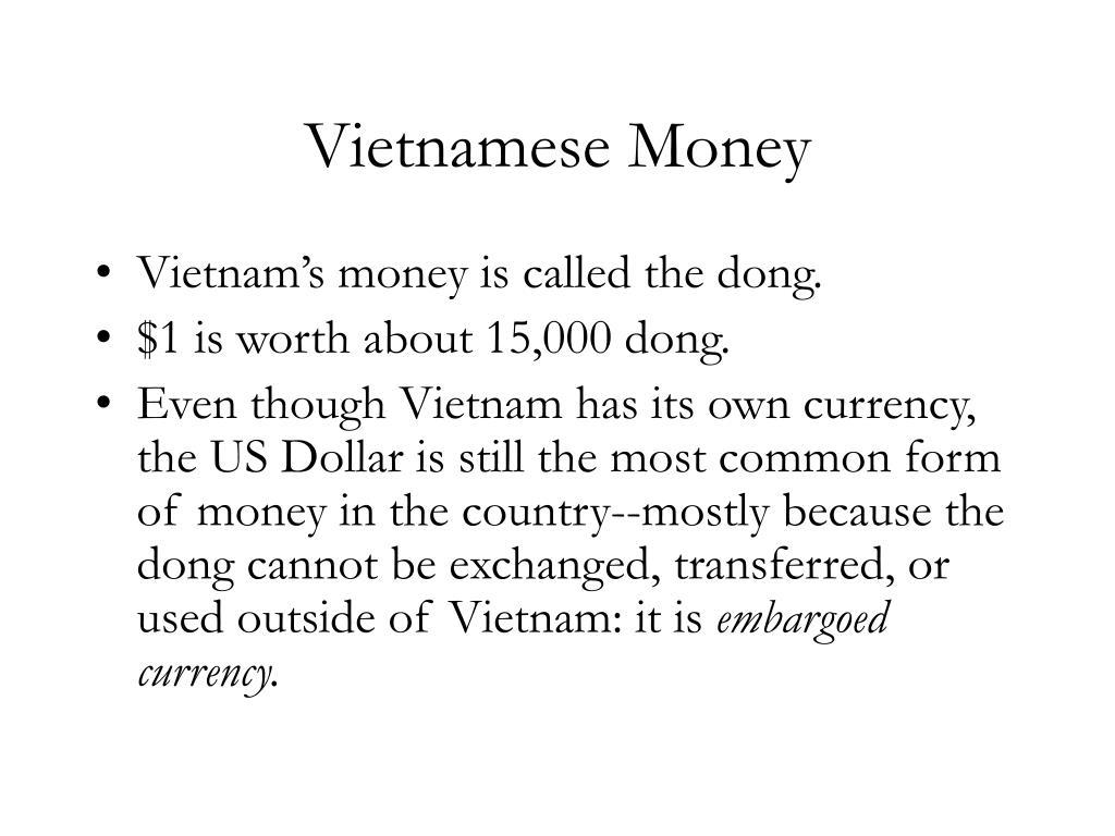 Vietnamese Money