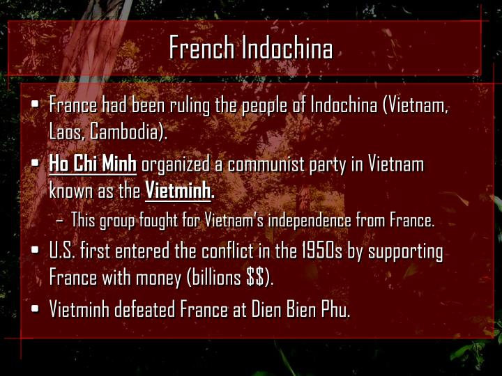 French indochina