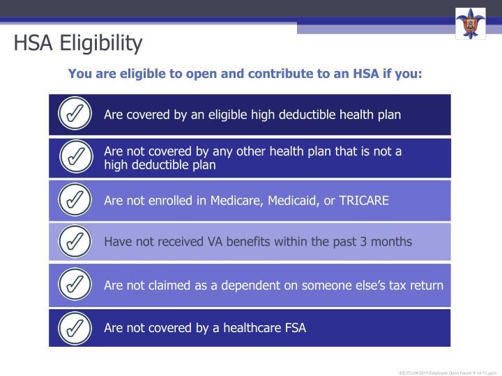 HSA Eligibility