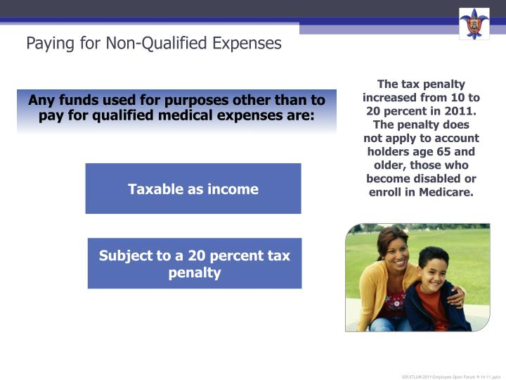 Paying for Non-Qualified Expenses