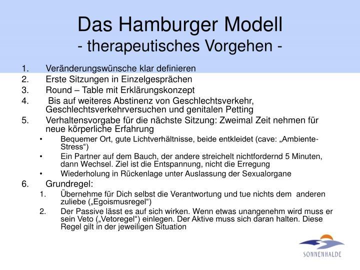 Das Hamburger Modell