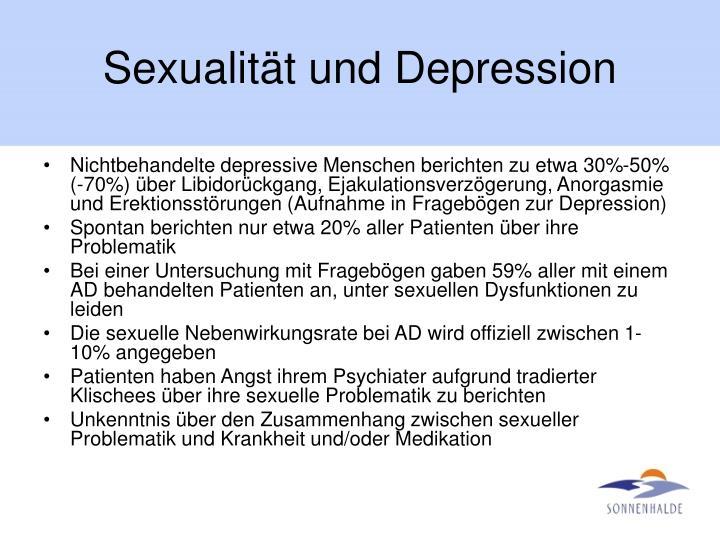 Sexualität und Depression