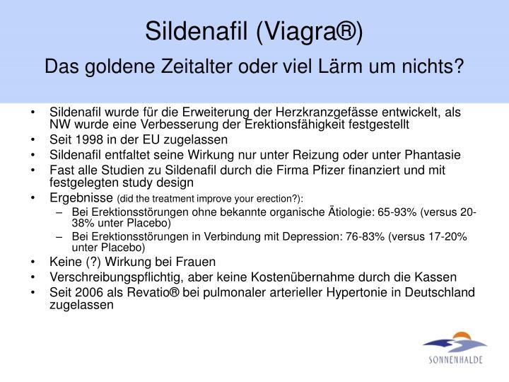Sildenafil (Viagra