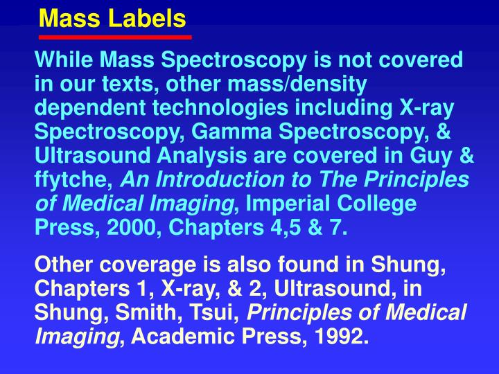 Mass Labels