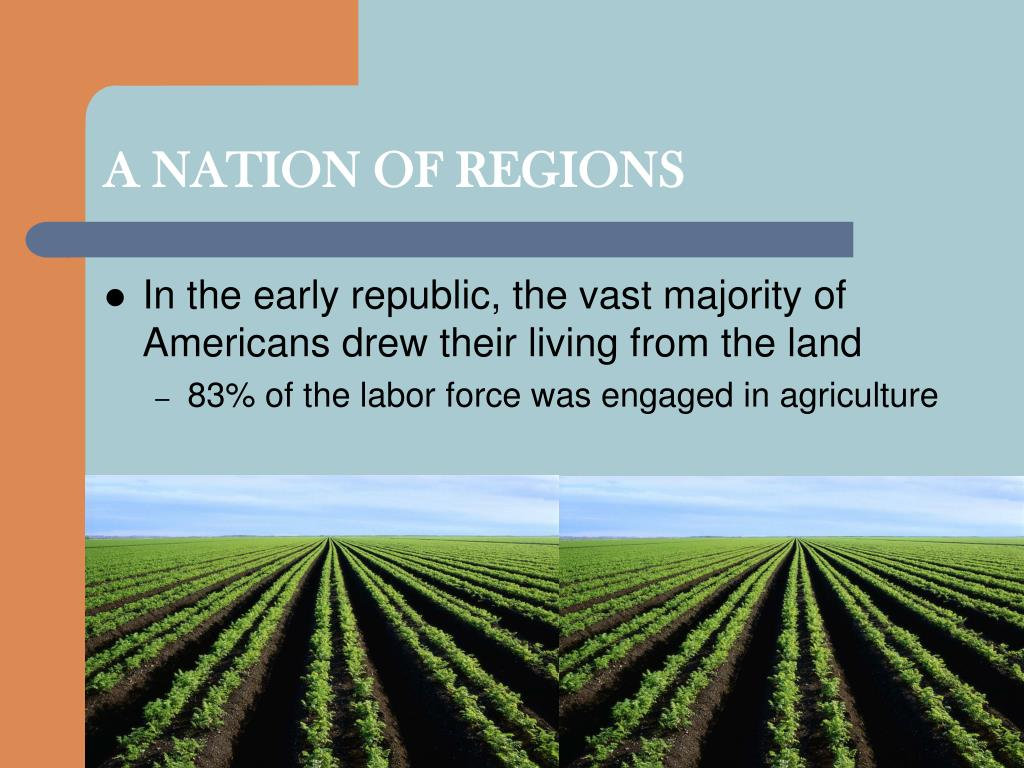 A NATION OF REGIONS