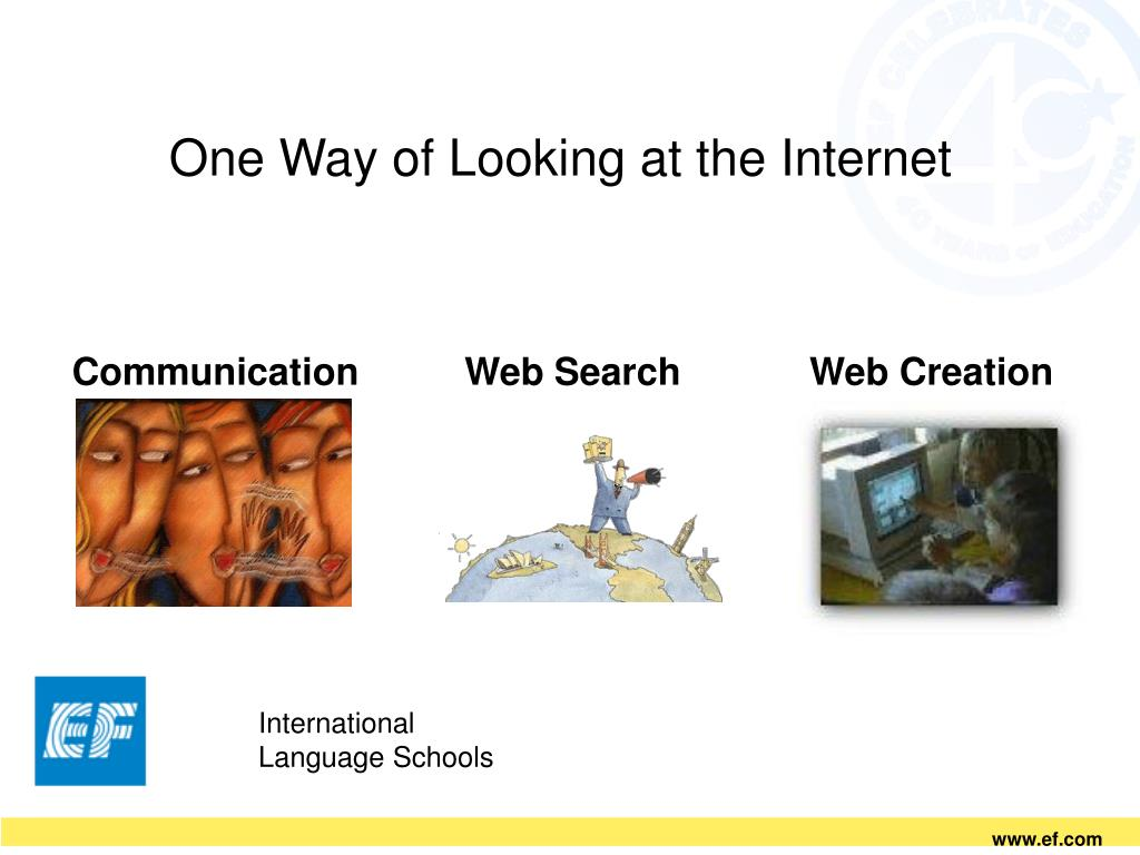 One Way of Looking at the Internet