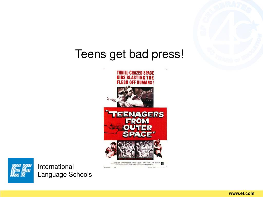 Teens get bad press!