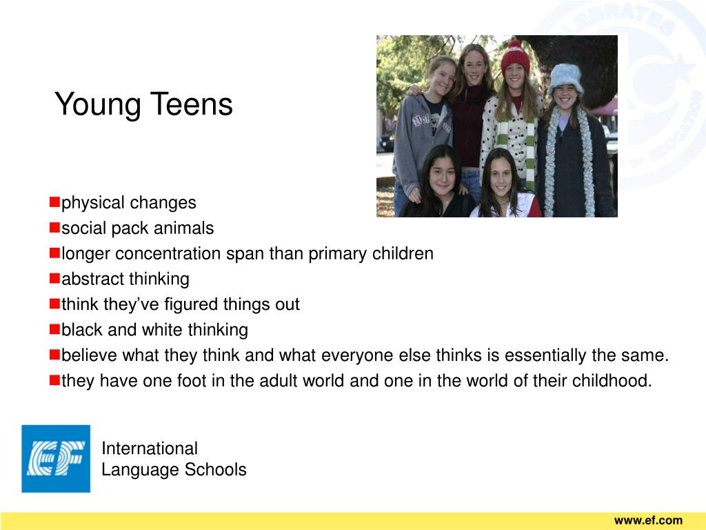Young Teens