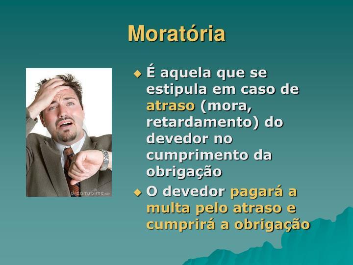 Moratória
