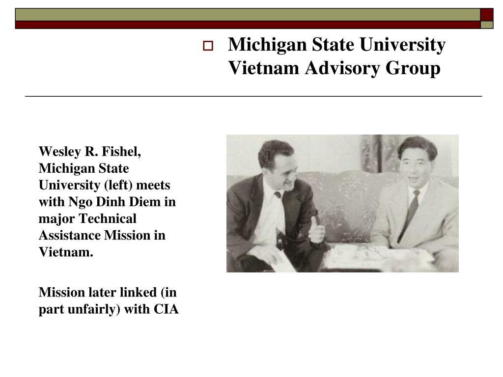 Michigan State University Vietnam Advisory Group
