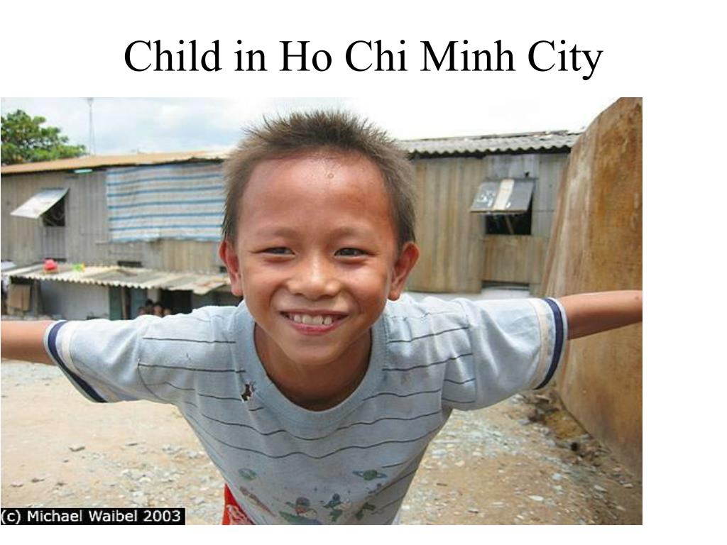 Child in Ho Chi Minh City