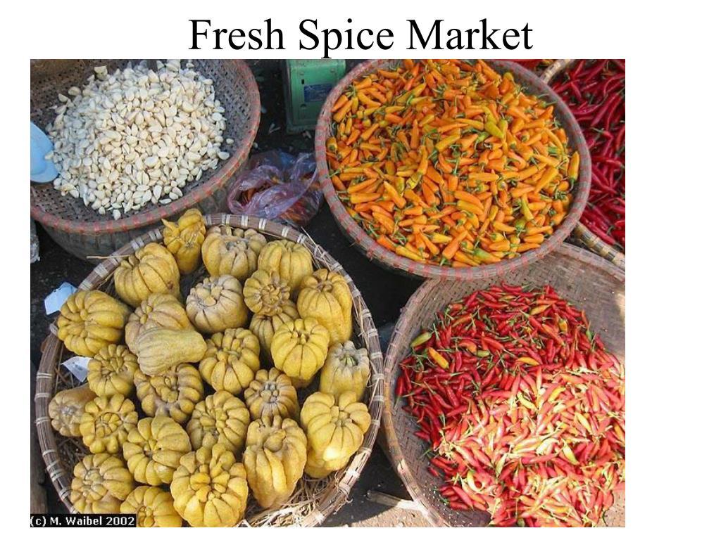 Fresh Spice Market