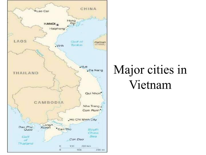 Major cities in vietnam