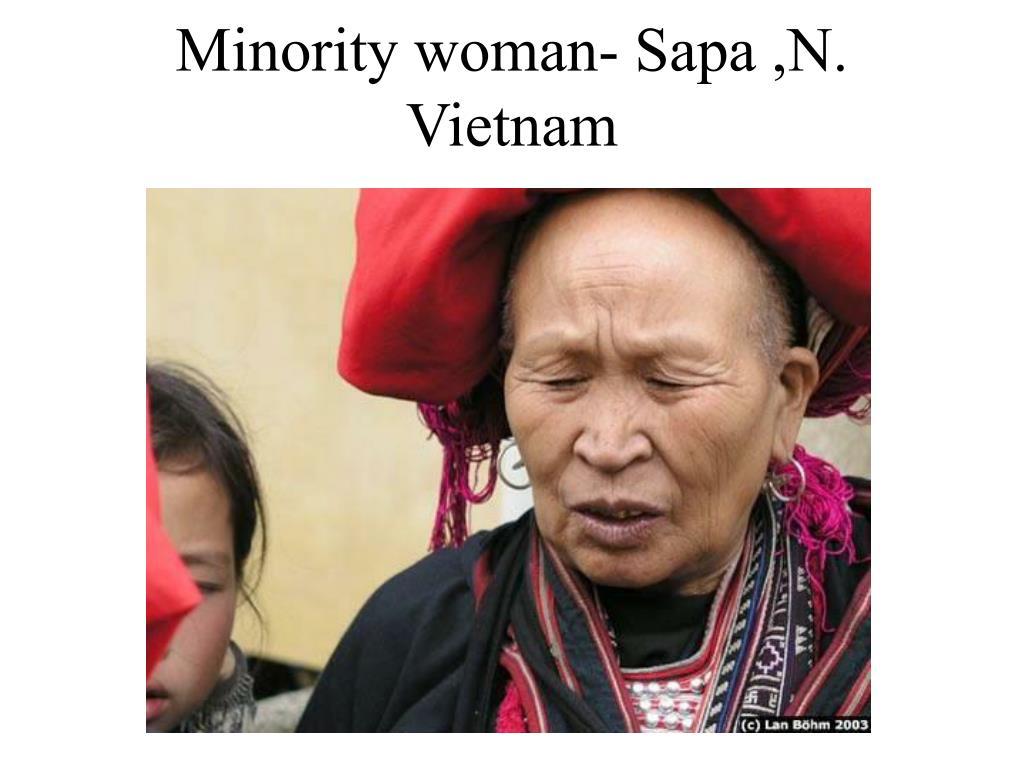 Minority woman- Sapa ,N. Vietnam