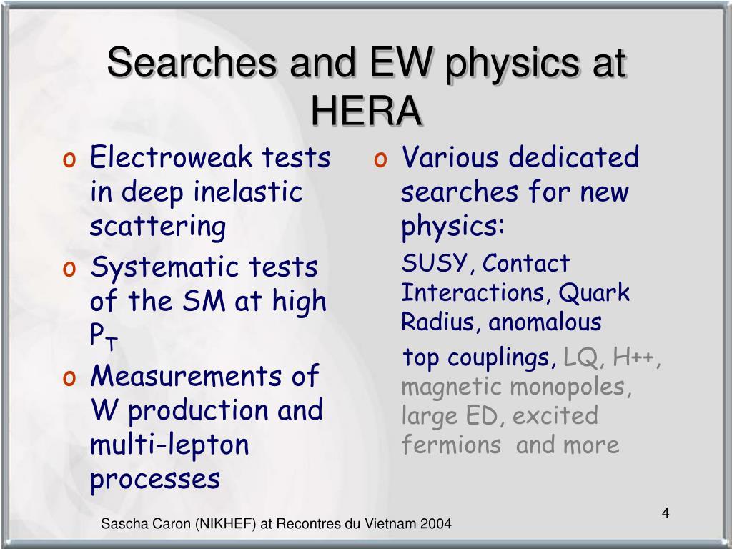 Electroweak tests in deep inelastic scattering