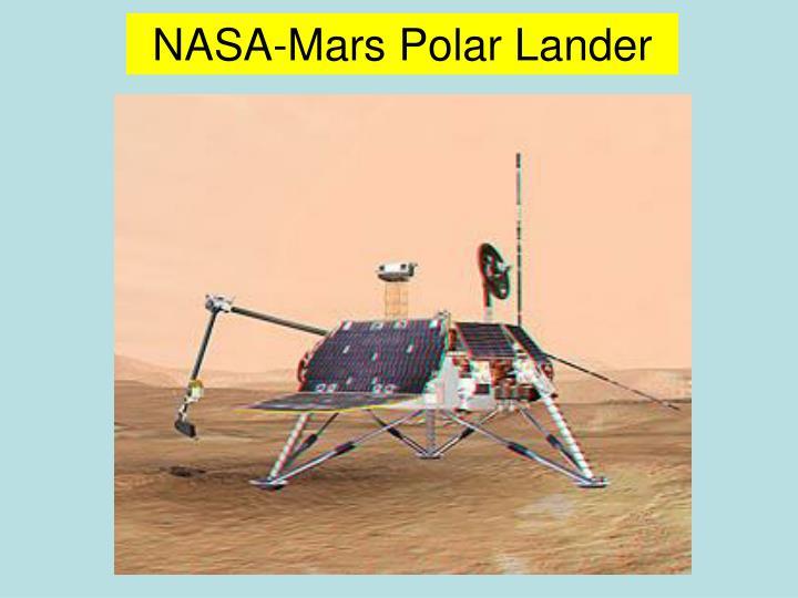 NASA-Mars Polar Lander