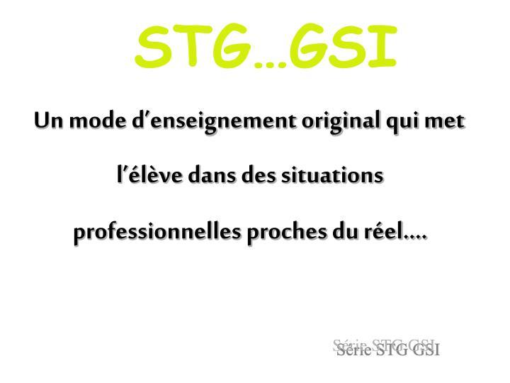 STGGSI