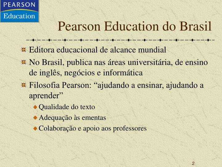 Pearson Education do Brasil