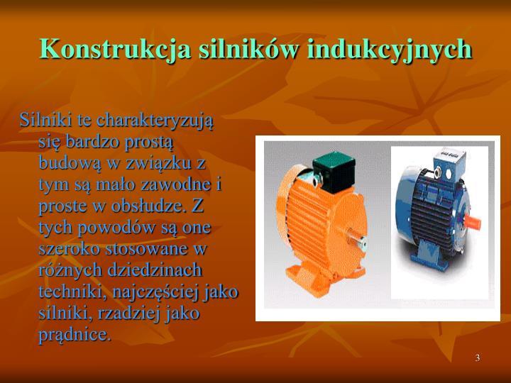Konstrukcja silników indukcyjnych