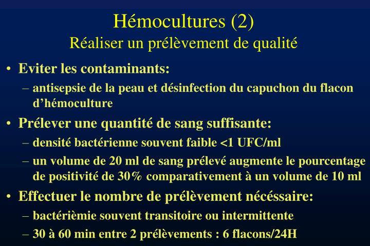 Hémocultures (2)