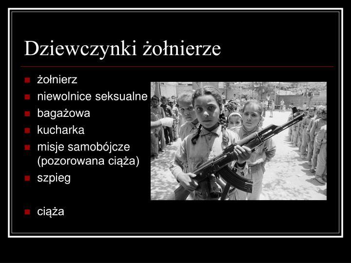 Dziewczynki żołnierze
