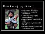 konsekwencje psychiczne1