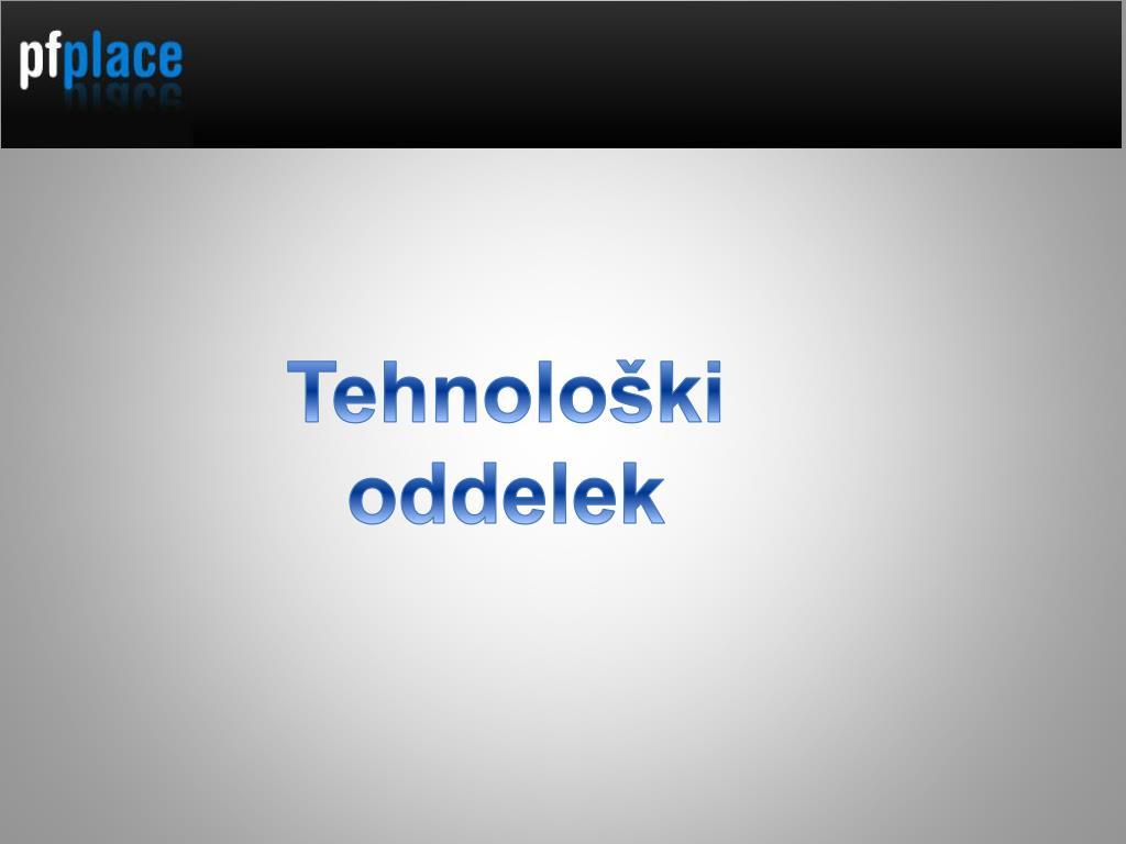 Tehnološki