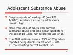 adolescent substance abuse1