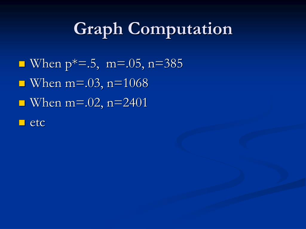 Graph Computation