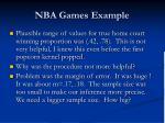 nba games example43