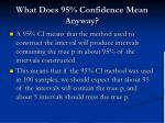 what does 95 confidence mean anyway