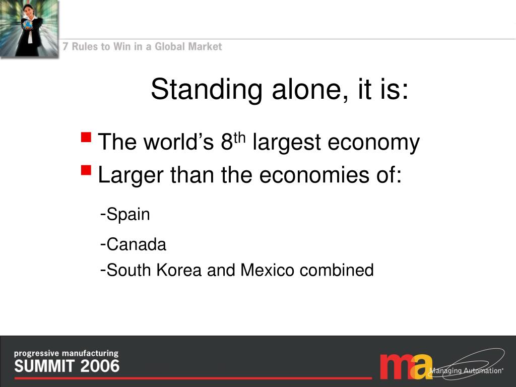 Standing alone, it is: