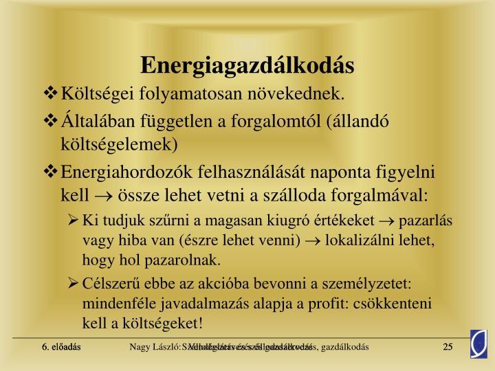 Energiagazdálkodás