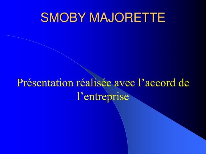 SMOBY MAJORETTE