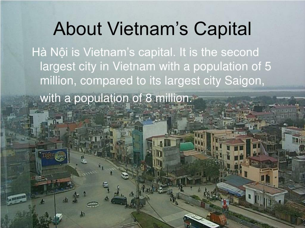 About Vietnam's Capital