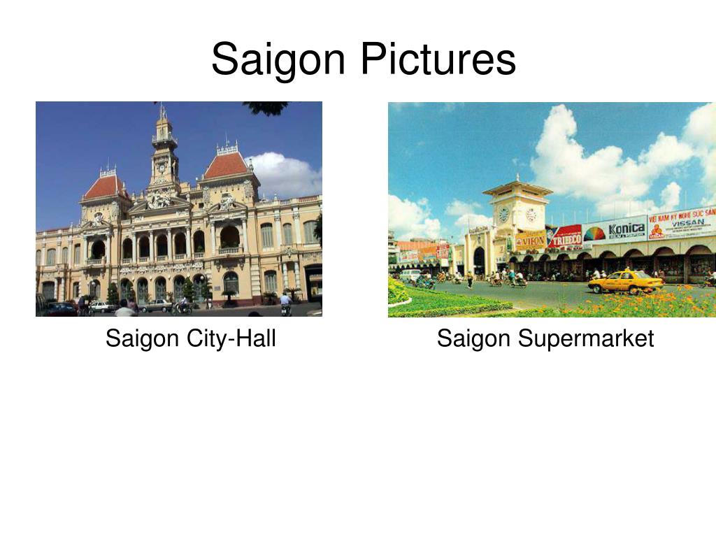 Saigon Pictures